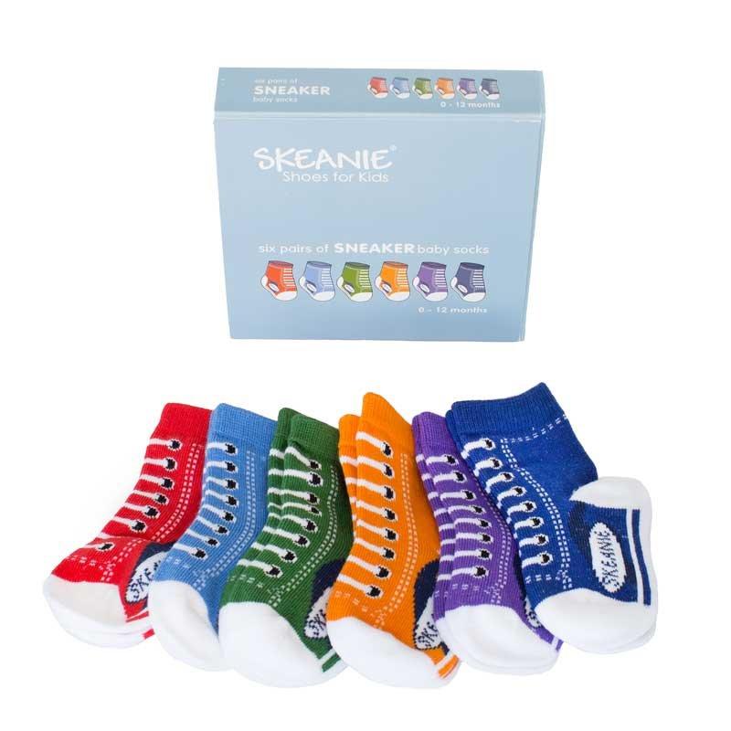 love: Baby Socks Sneakers - 6 Pack