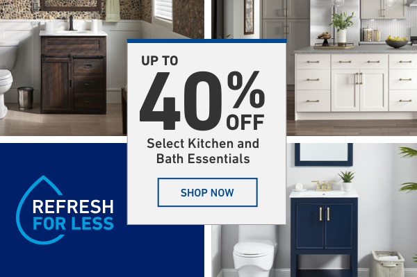 Lowes: The Kitchen and Bath Event is HERE! | Milled