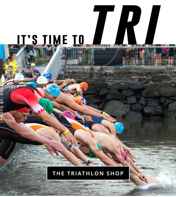 Paragon Sports: The TRI Shop: Swim, Bike, Run! | Milled