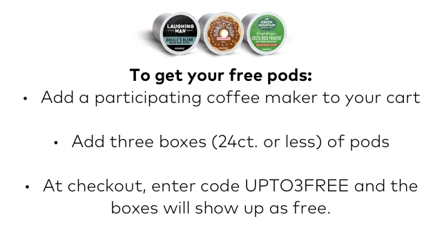 Keurig: 72 FREE Pods  2 Days Only  1 Incredible Deal!   Milled