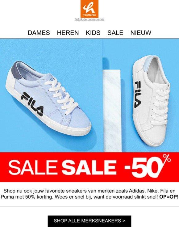 vanHaren : SALE: 50% korting op merksneakers | Milled