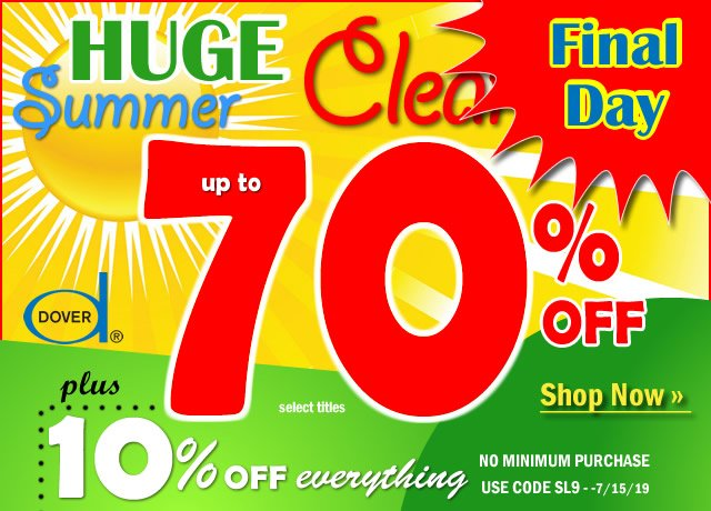 Huge Summer Clearance: Up to 70% Off
