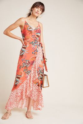 Farm Rio for Anthropologie Musette Maxi Dress