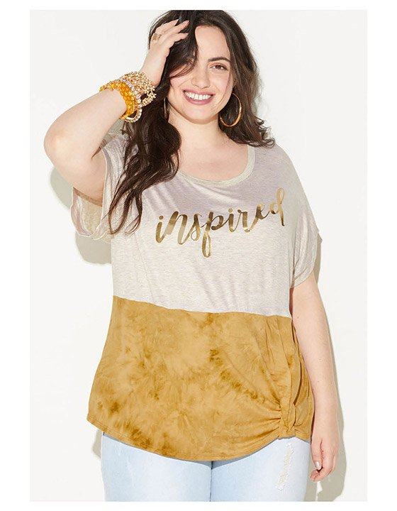 Shop Plus Size Tops