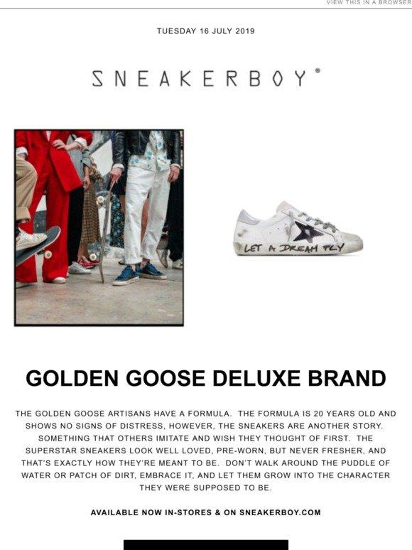 Sneakerboy: Golden Goose Deluxe Brand