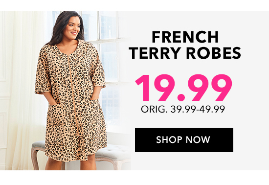 Shop French Terry Robes