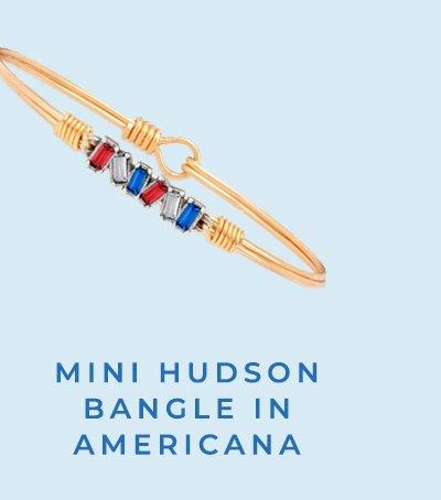 MINI HUDSON BANGLE IN AMERICANA