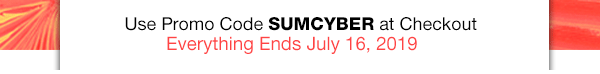 FREE SHIPPING when you buy any 3 items + DOORBUSTERS up to 50% OFF Code: SUMSCYBER