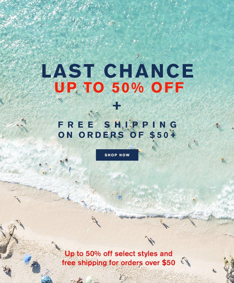 LAST CHANCE! - Shop Now