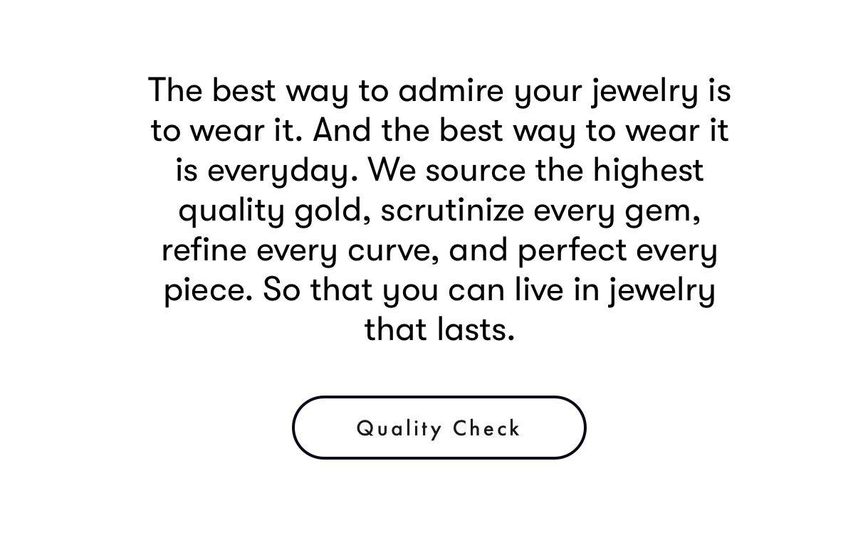 Quality Check