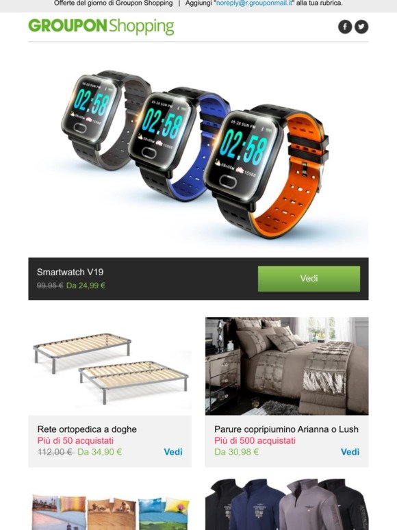 Copripiumino Groupon.Groupon It Email Newsletters Shop Sales Discounts And Coupon
