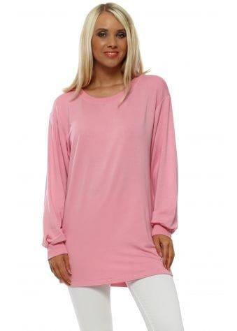 Sofia Peach Melba Plain Sweater