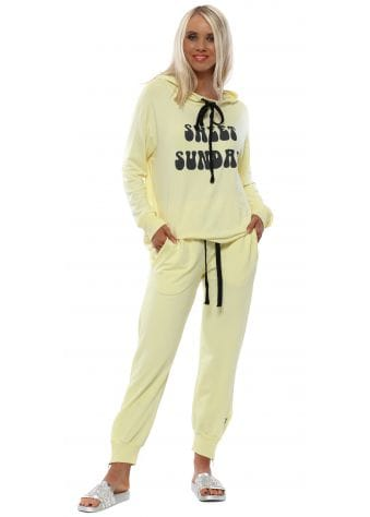 Banana Cleo Zip Side Sweat Pants