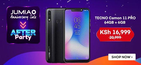 Jumia Kenya: Jumia Anniversary Sale Afterparty! TECNO Camon
