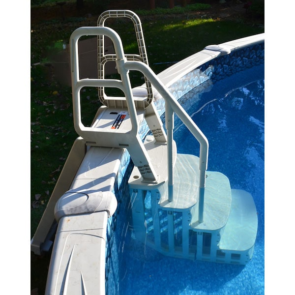 Main Access Smart Step for 48in. - 54in. Tall Pools