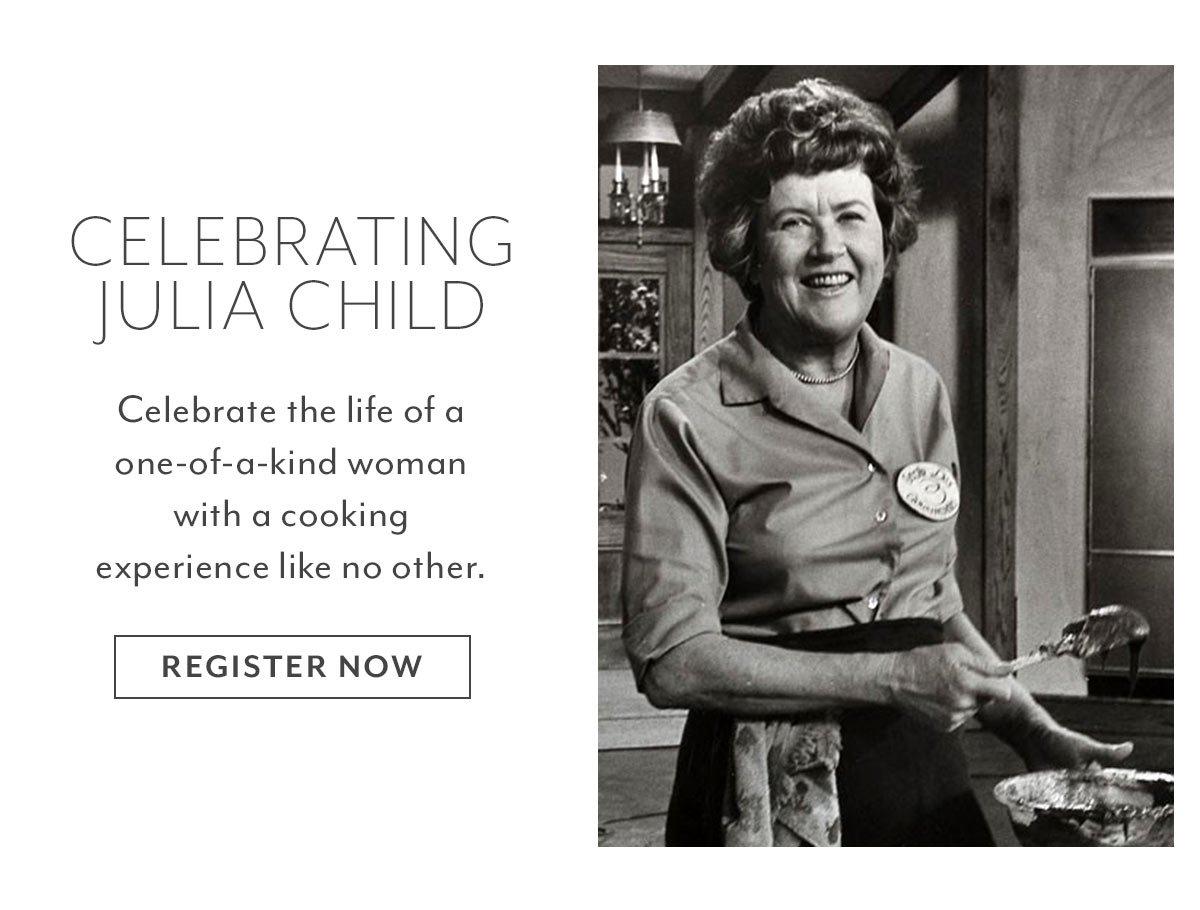 Class: Celebrating Julia Child