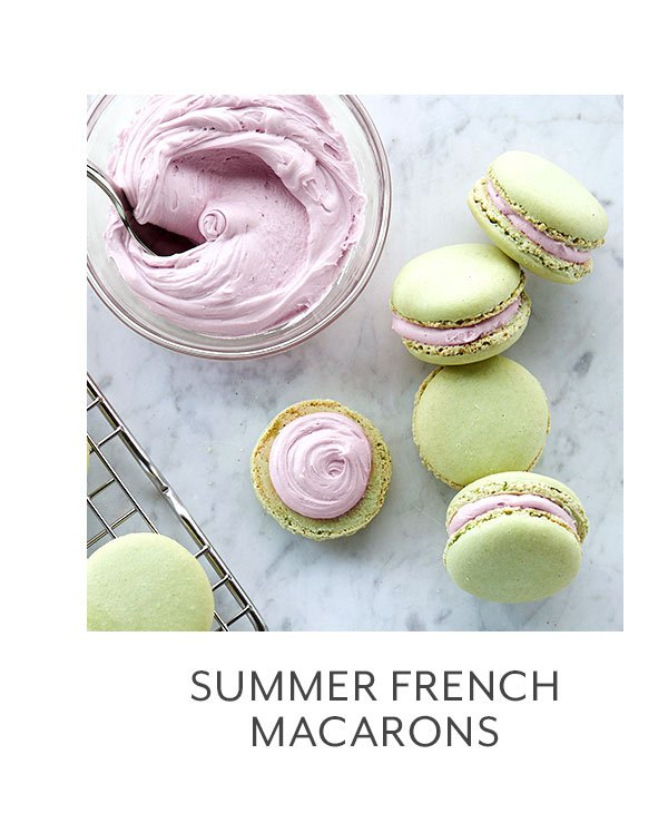 Class: Summer French Macarons