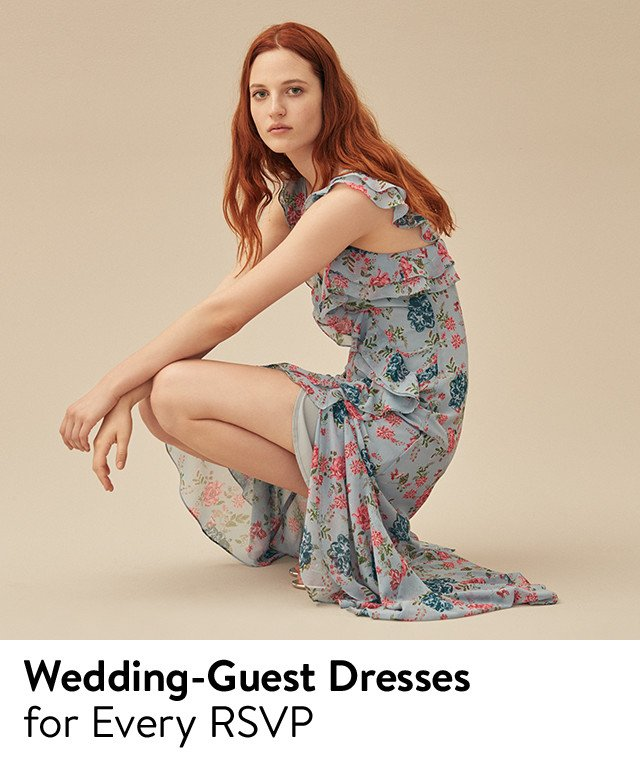 Wedding-guest dresses for every RSVP.