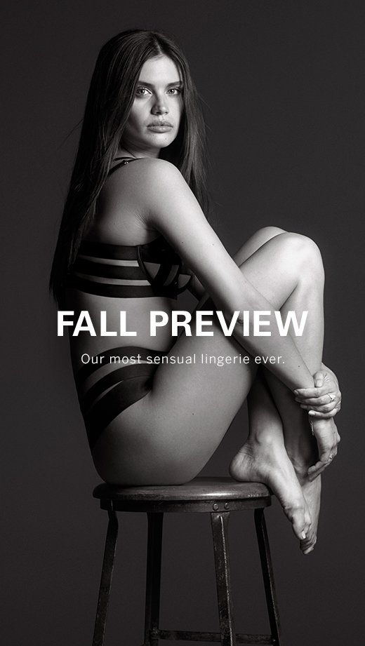 Fall Preview Lingerie