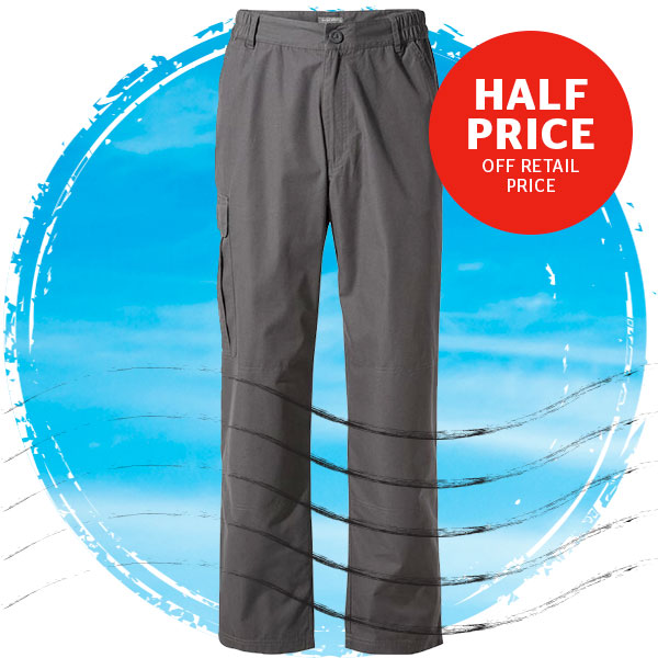 Craghoppers Men's & Women's C65 Walking Trousers