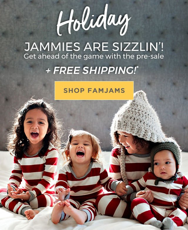 Pre-order your Family Jammies now!