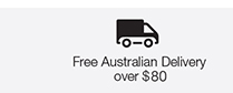 Free Australian Delivery over $80