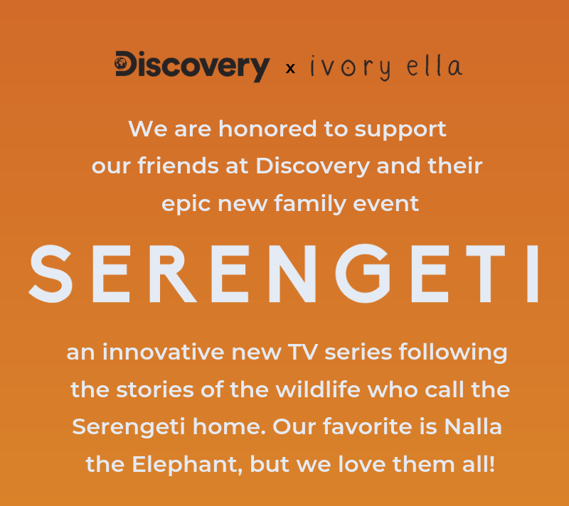 Don't miss SERENGETI, an epic family event brought to you by Discovery.