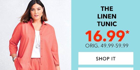 Shop The Linen Tunic