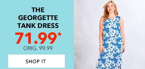 Shop The Georgette Tank Dresses