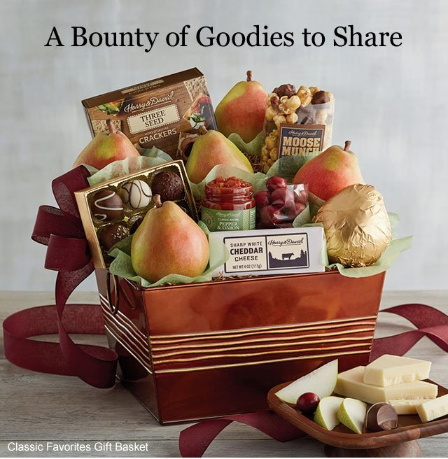 A Bounty of Goodies to Share