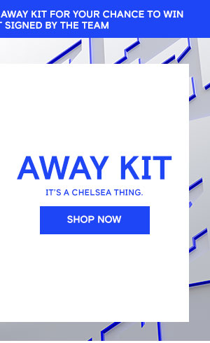 Chelsea Megastore: IT'S A CHELSEA THING - 2019/20 Away Kit | Milled