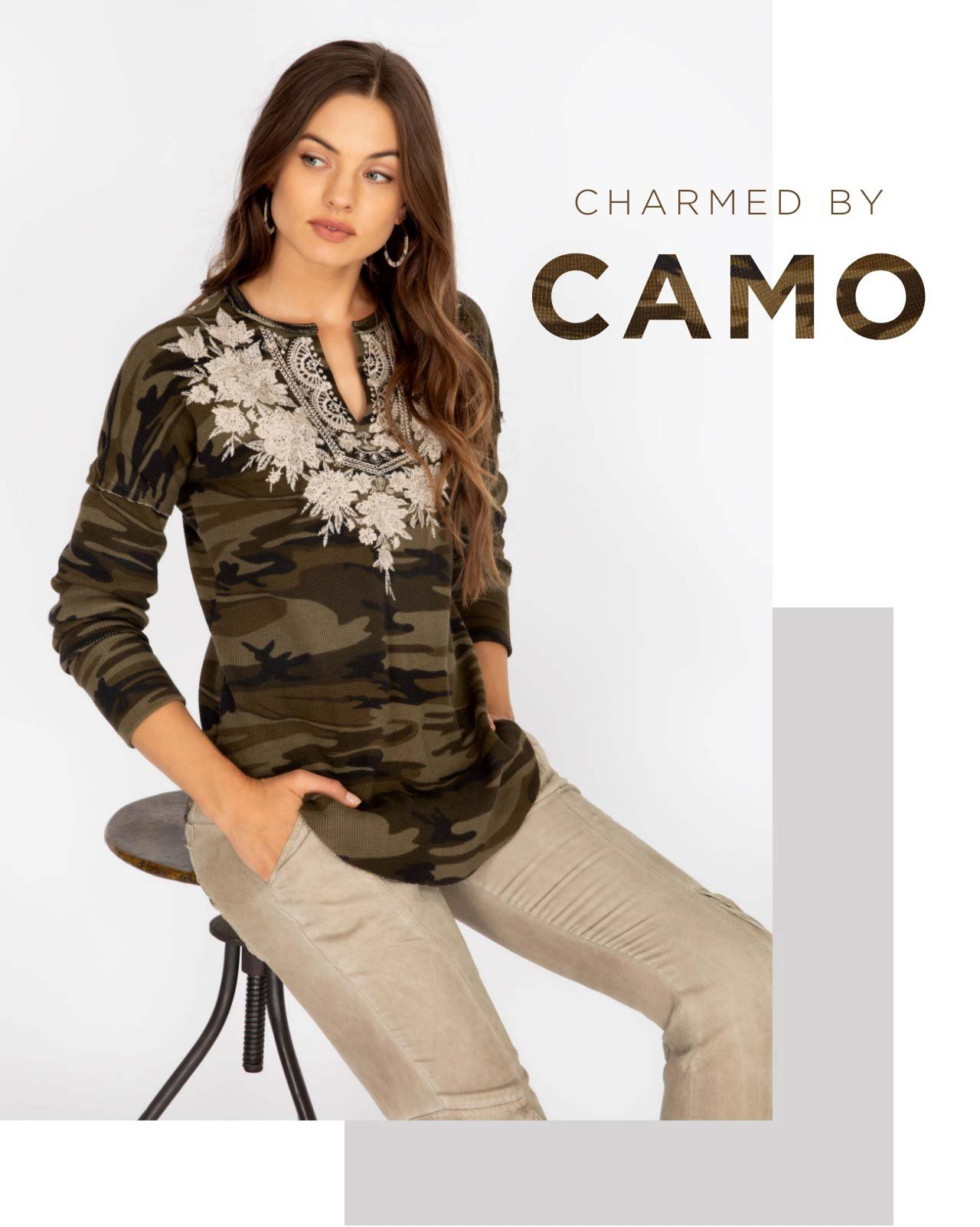 Charmed by Camouflage