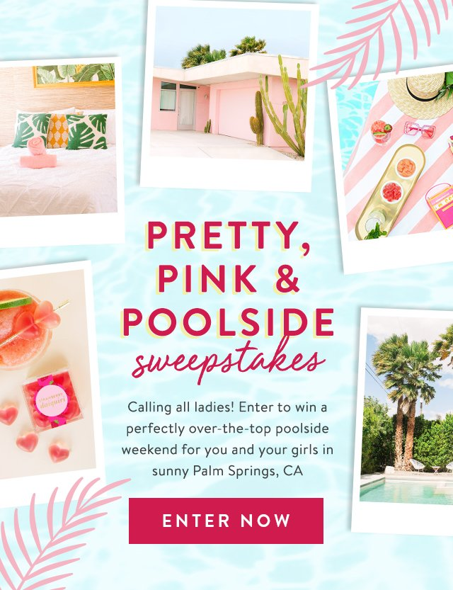 Sugarfina: 🌴The Sweepstakes of your dreams   in Palm Springs | Milled