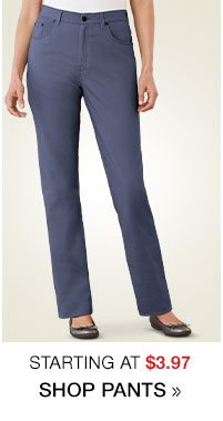 Shop Women's Clearance Pants starting at $3.97!
