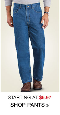 Shop Men's Clearance Pants starting at $5.97!