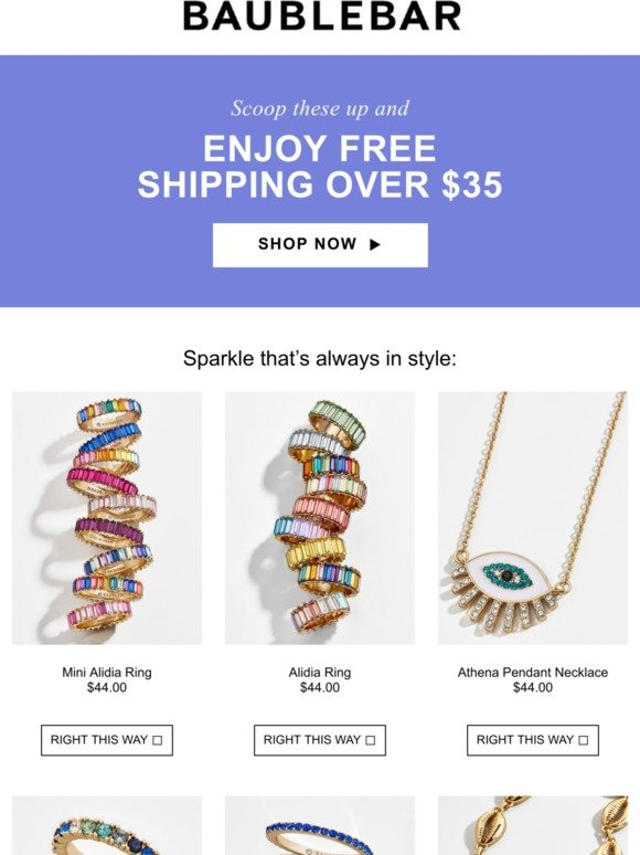 BaubleBar: These could be yours | Milled