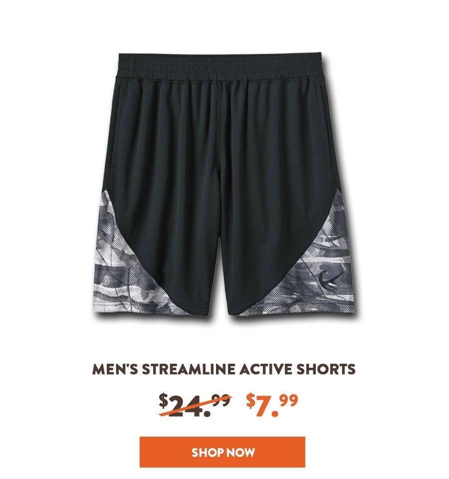MEN'S STREAMLINE ACTIVE SHORTS