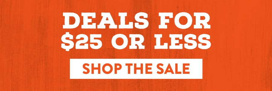 Deals for $25 or Less - Shop The Sale
