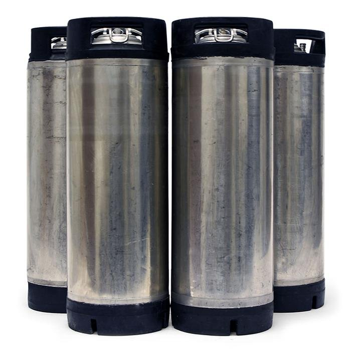 Four Pack of Reconditioned 5 Gallon Ball Lock Kegs ONLY $199.99