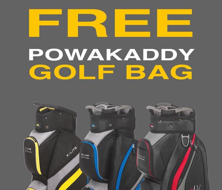 PowaKaddy Bag Promotion - Shop Now