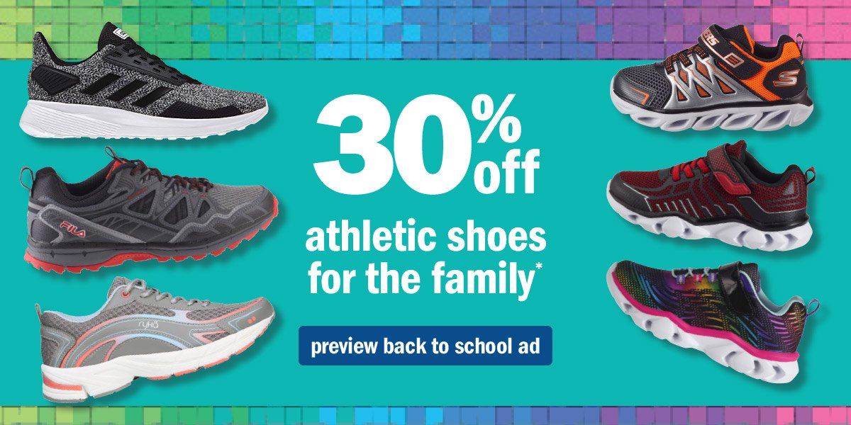 Meijer: 30% Off Athletic Shoes for the