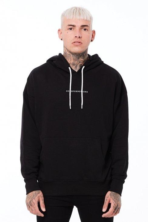 Essential Oversized Black Hood