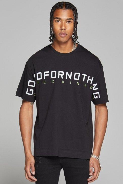 Radius Oversized Black T-shirt