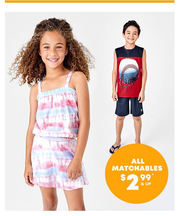 All Matchables $2.99 & Up