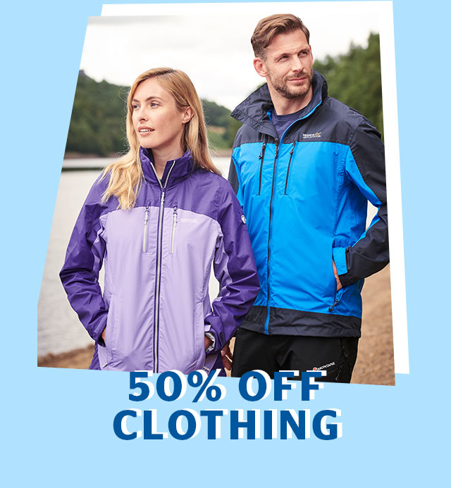 50% Off Clothing
