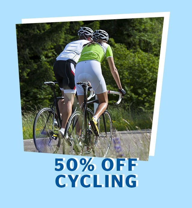 50% Off Cycling