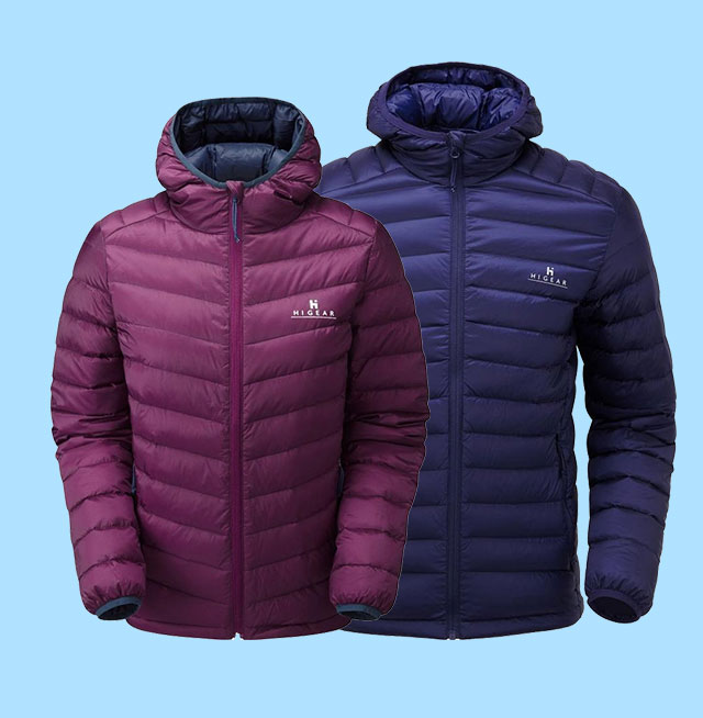 Hi Gear Mens and Womens Packlite Alpinist Down Jacket