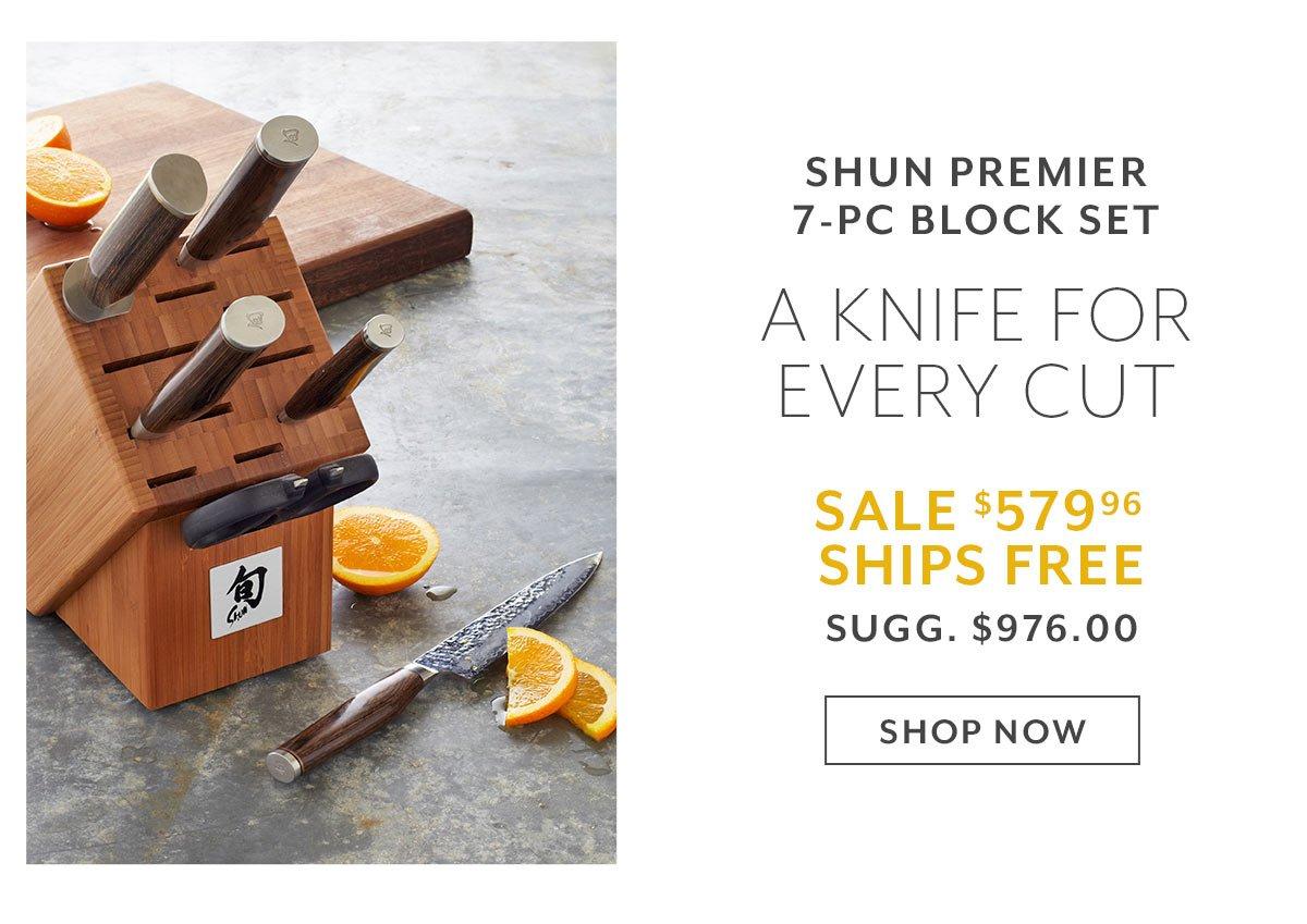 Shun Premier 7-PC Block Set