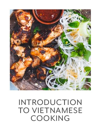 Class: Introduction to Vietnamese Cooking
