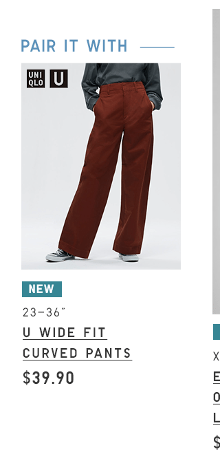 BODY2 PDP1 - WOMEN U WIDE FIT CURVED PANTS